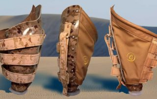CJ Socket Custom Prosthetics - Desert Camouflage